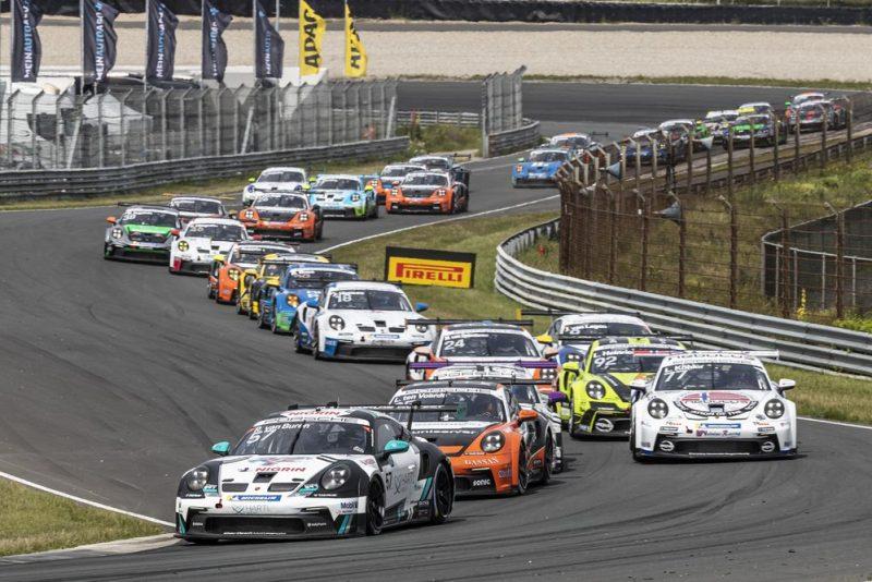 Start- Porsche Carrera Cup Deutschland, Zandvoort 2021