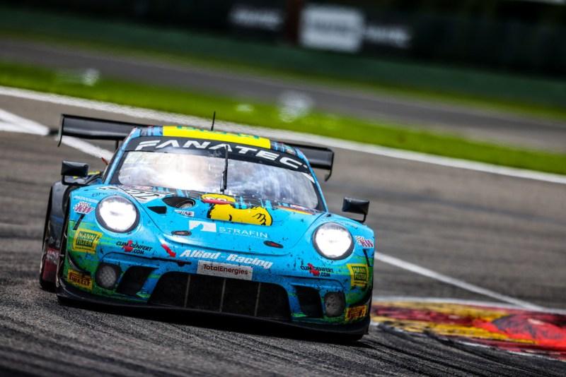 Porsche 911 GT3 R, Team Allied Racing (#222), Julien Apotheloz (CH), Bastian Buus (DK), Lars Kern (D), Arno Santamato (F)