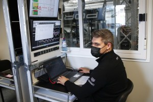 Romain Gineste (Senior Performance Engineer Porsche GT Team)