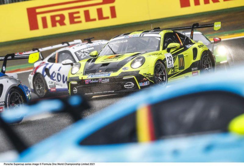 Porsche 911 GT3 Cup, Nebulus Racing by Huber (#29), Laurin Heinrich (D), Porsche Mobil 1 Supercup 2021, Spa-Francorchamps (B),