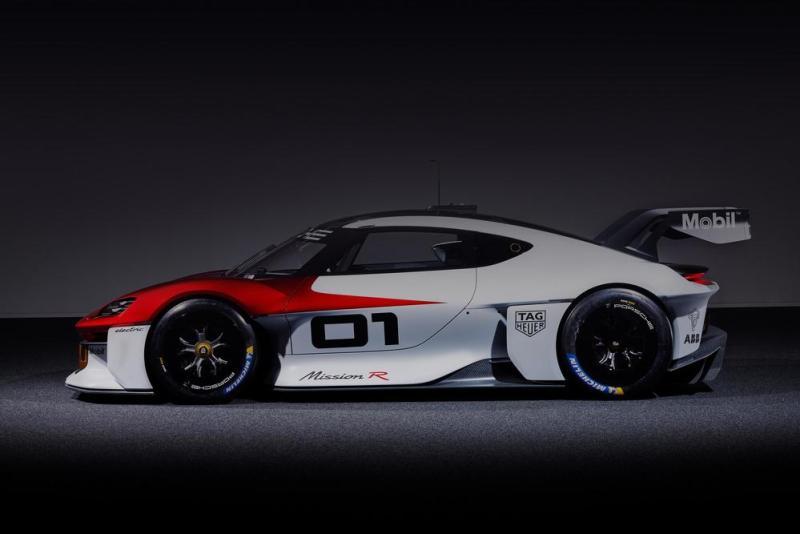 Porsche Mission R, IAA Mobility 2021 2