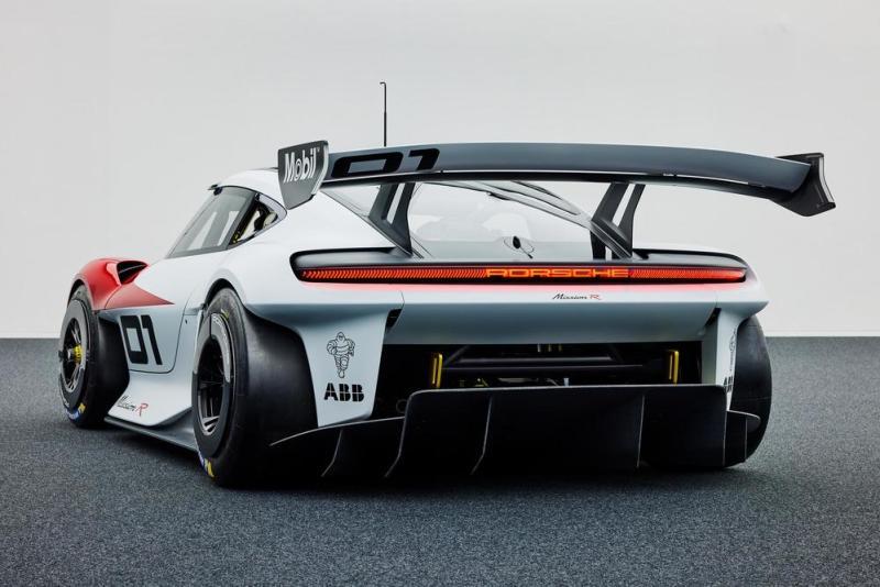 Porsche Mission R, IAA Mobility 2021