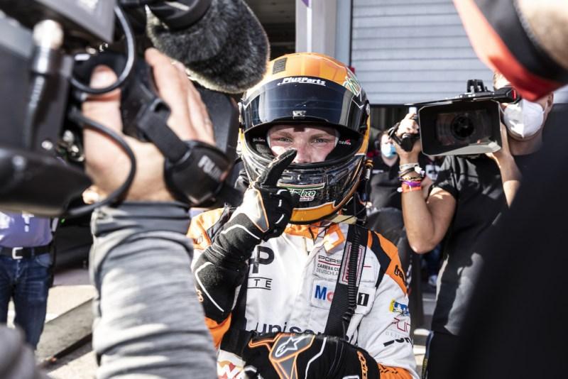 Larry ten Voorde (NL), Team GP Elite, Porsche Carrera Cup Deutschland, Sachsenring 2021