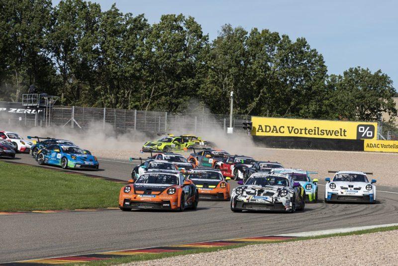 Start- Porsche Carrera Cup Deutschland, Sachsenring 2021