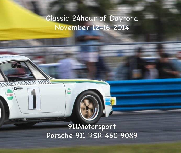 911motorsport At The Daytona Historic 24h 2014