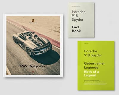 Porsche 918 Spyder : The Porsche 918 Trilogy Book Cover