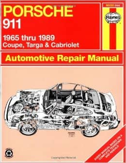 Porsche 911 Repair Manual Haynes