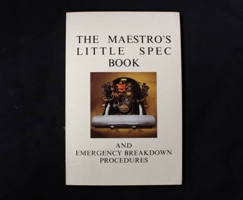Porsche 356 & 912 - The Maestro's Little Spec Book - Harry Pellow