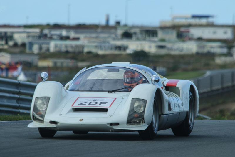 Porsche 906 with Gijs van Lennep at the wheel
