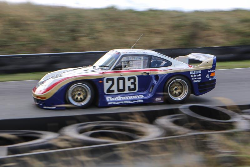 Porsche 961 with Jurgen Barth at the wheel