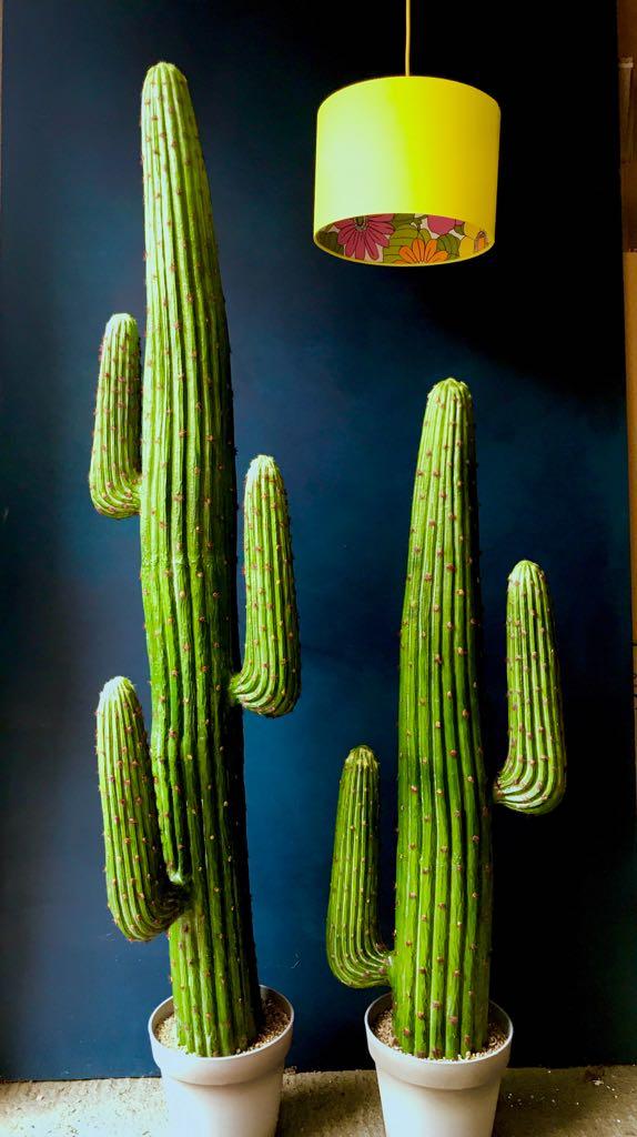 Large Faux Saguaro Artificial Cactus  3 Arms  Love Frankie