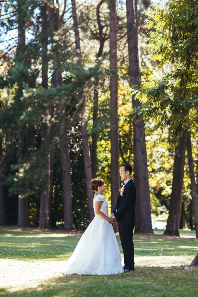 Bridal shoot near Stanley Park, Vancouver, BC