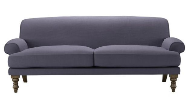 Natural Linen French Style Sofa