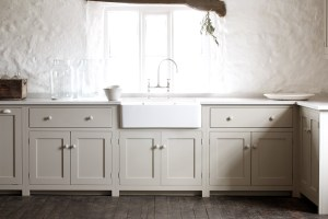French country style kitchen Devol shaker