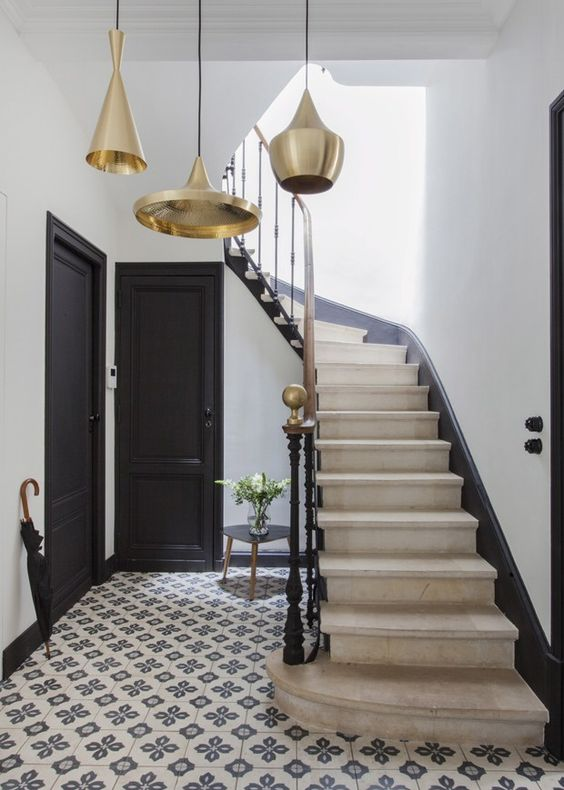 French style staircase