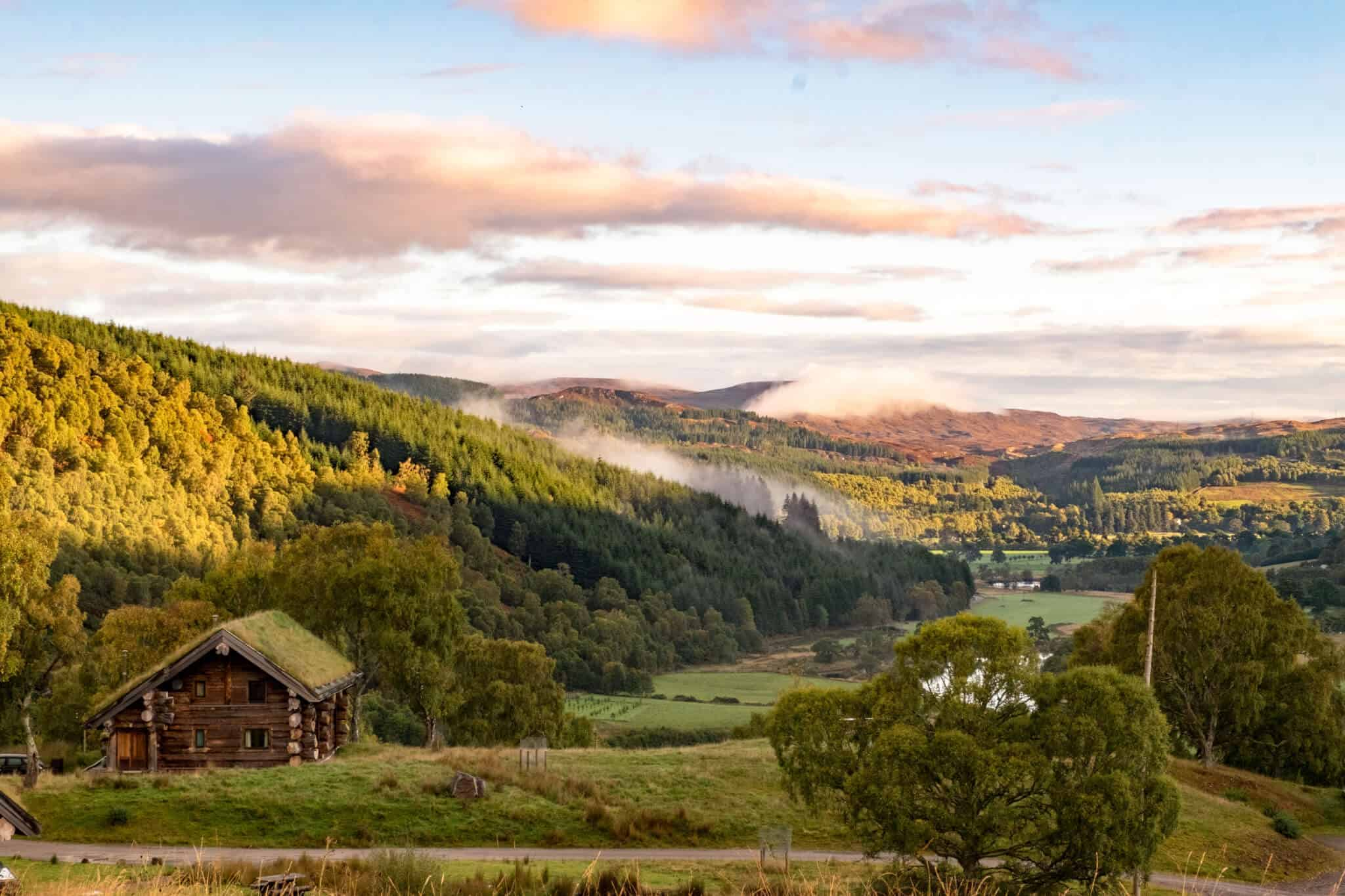 Eagle Brae Log Cabins Scotland