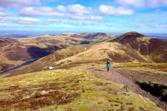 Pentland Hills Edinburgh Day Walks in Scotland