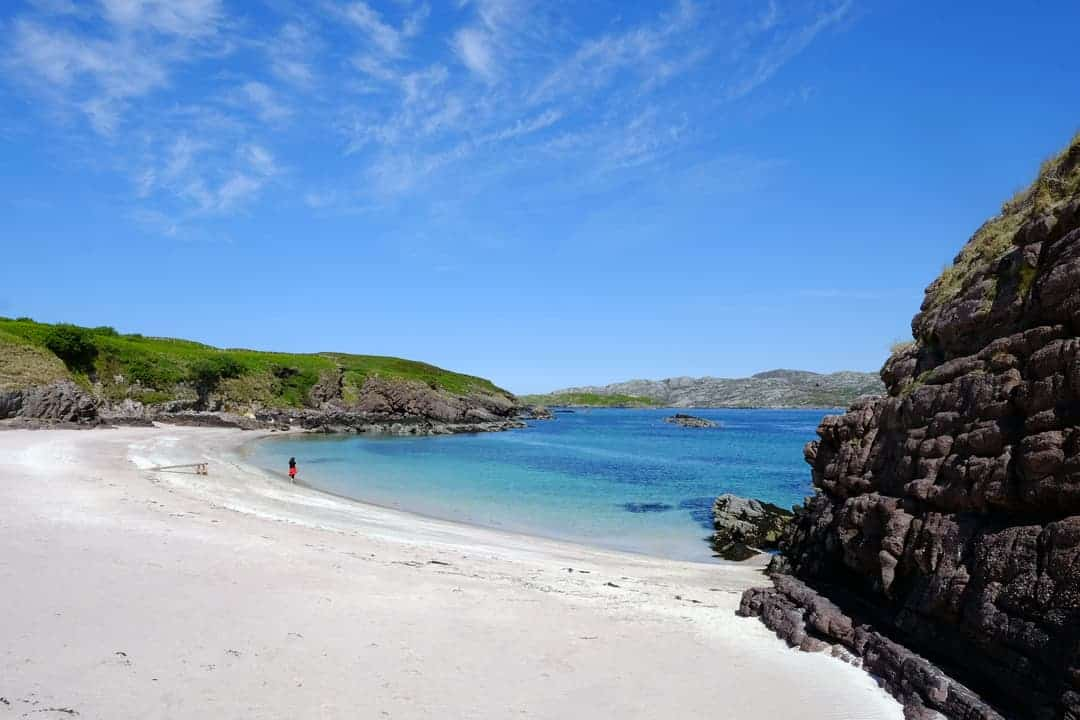 Handa Island Beach