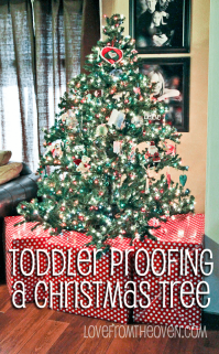 Ideas For Baby, Toddler & Pet Proofing Your Christmas Tree ...
