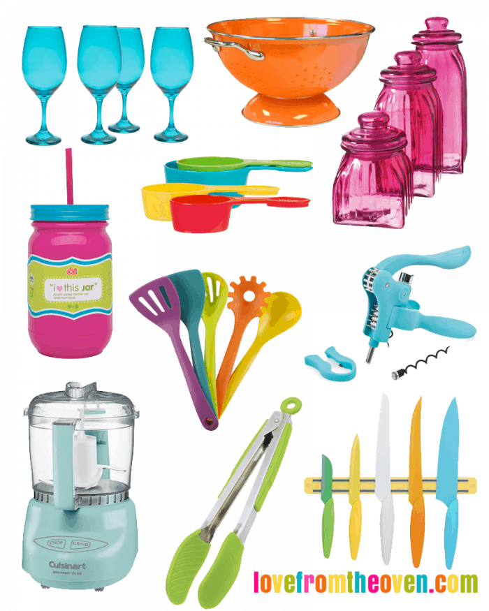 colorful kitchen accessories rohl faucets fun friday finds love from the oven