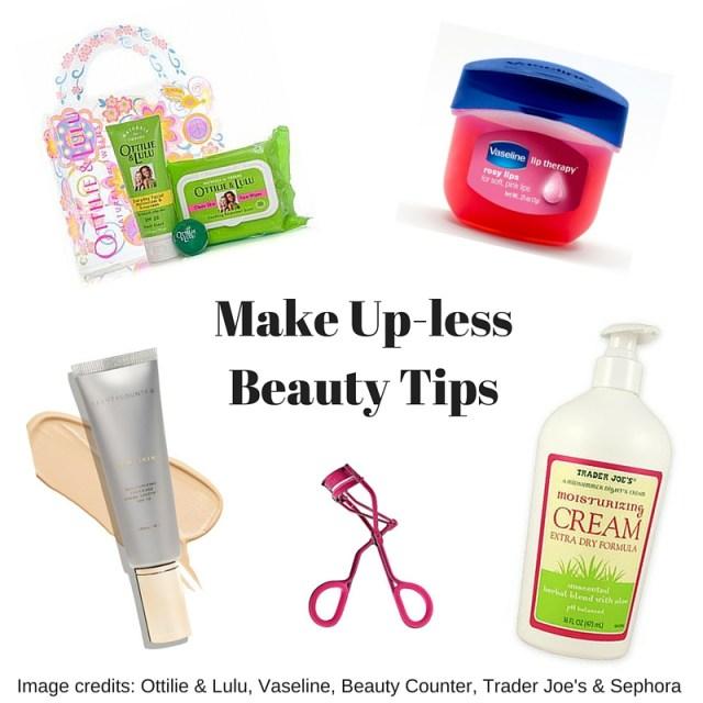Make Up-less Beauty Tips