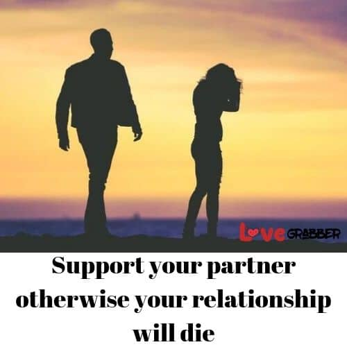 be suportive to your partner
