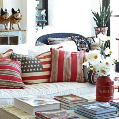 Red And White Living Room Display Cabinets 10 Chic Ways To Decorate In Blue Love Happens Magazine