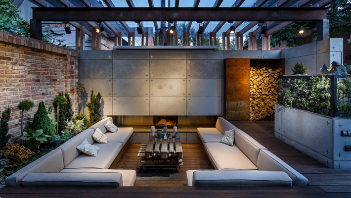 outdoor living room ideas what type of tile is best for backyard retreats the art turning your into a luxurious lounge zone by svoya studio cinemas tvs