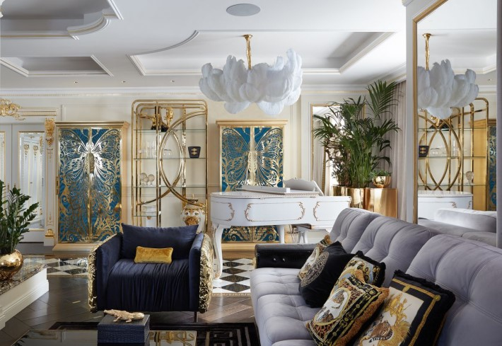 A Whimsical Luxury Interior Filled with Eye Candy by Mironova Design