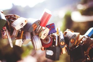 Countless locks are secured onto the same chain for Love Heal Grow Counseling. This could represent the relationships that have been helped by online affair recovery in California. Contact an online therapist for support today!