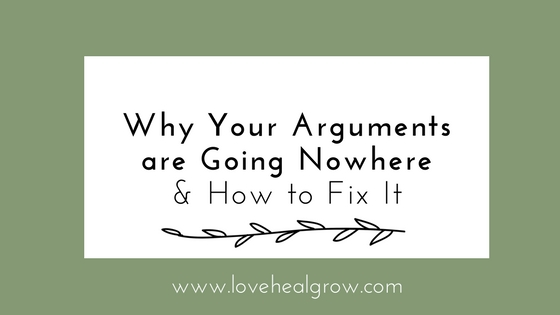 Why Your Arguments are Going Nowhere