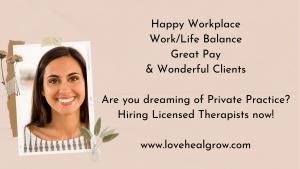 Love Heal Grow Licensed Therapist