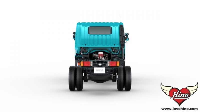 HINO 300 Innovator XZU710R ด้านหลัง