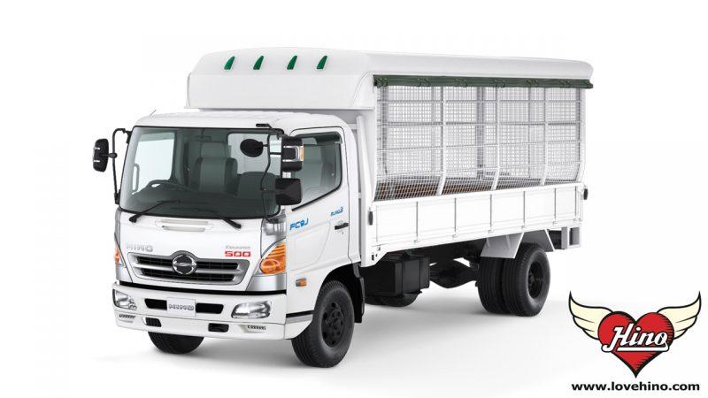 FC9JJLA_FC9JJMA รถบรรทุก 6 ล้อกลาง HINO 500 Dominator HINO สองแถว