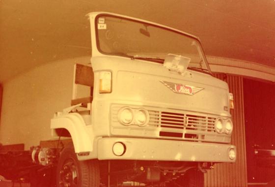 KM รถบรรทุกรุ่นแรกของเมืองไทย
