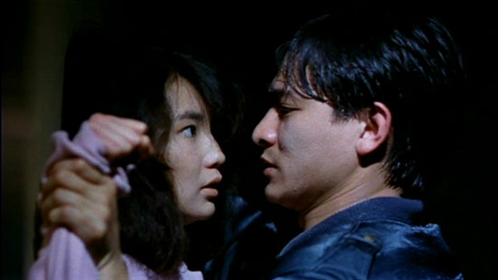 maggie cheung and andy lau in as tears go by