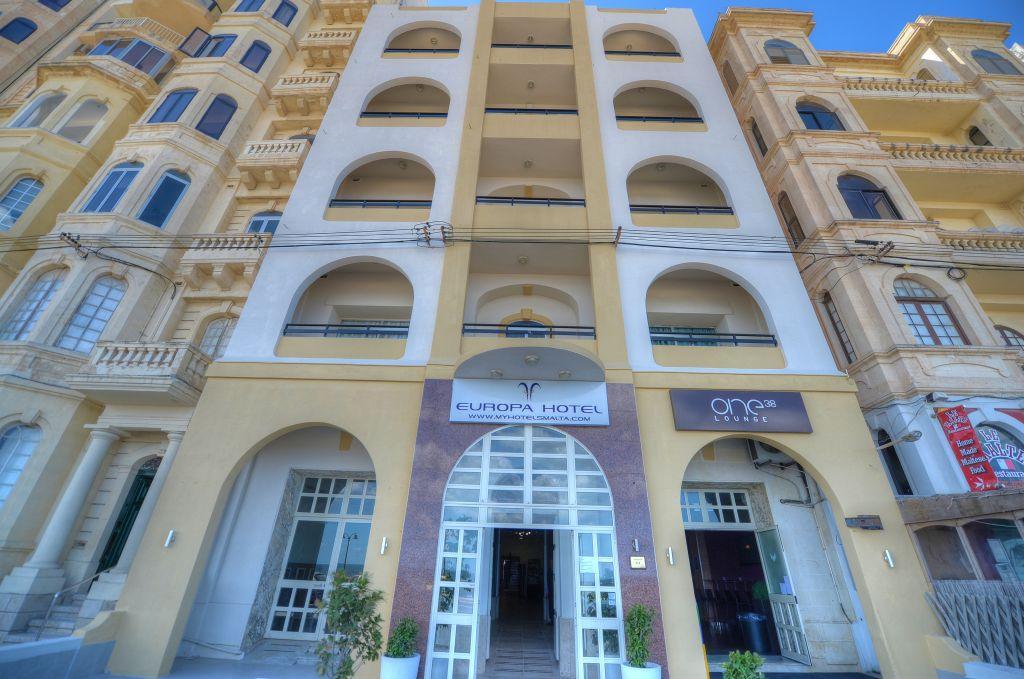 Europa Hotel In Sliema Malta Holidays From 146pp