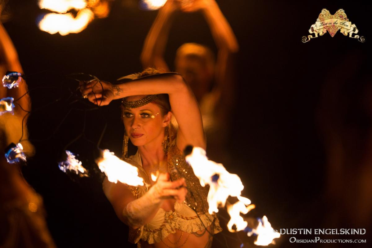 fire dance classes and
