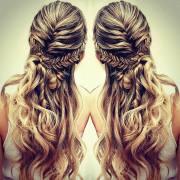 love in hair boho