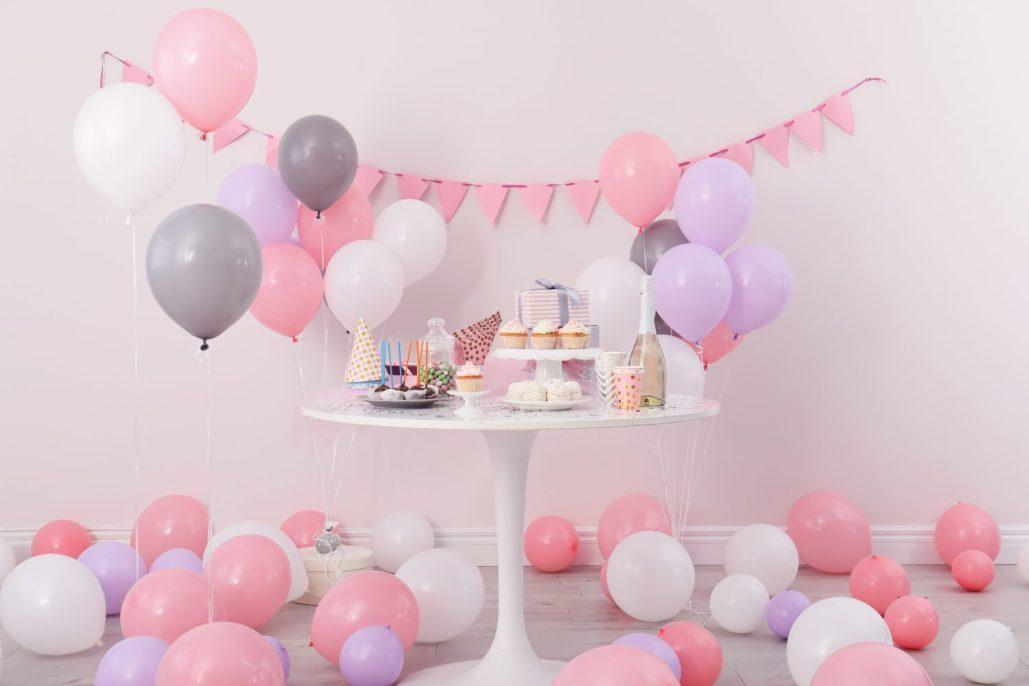 """Mädchen Motto Geburtstagsparty """"Pretty in Pink"""""""