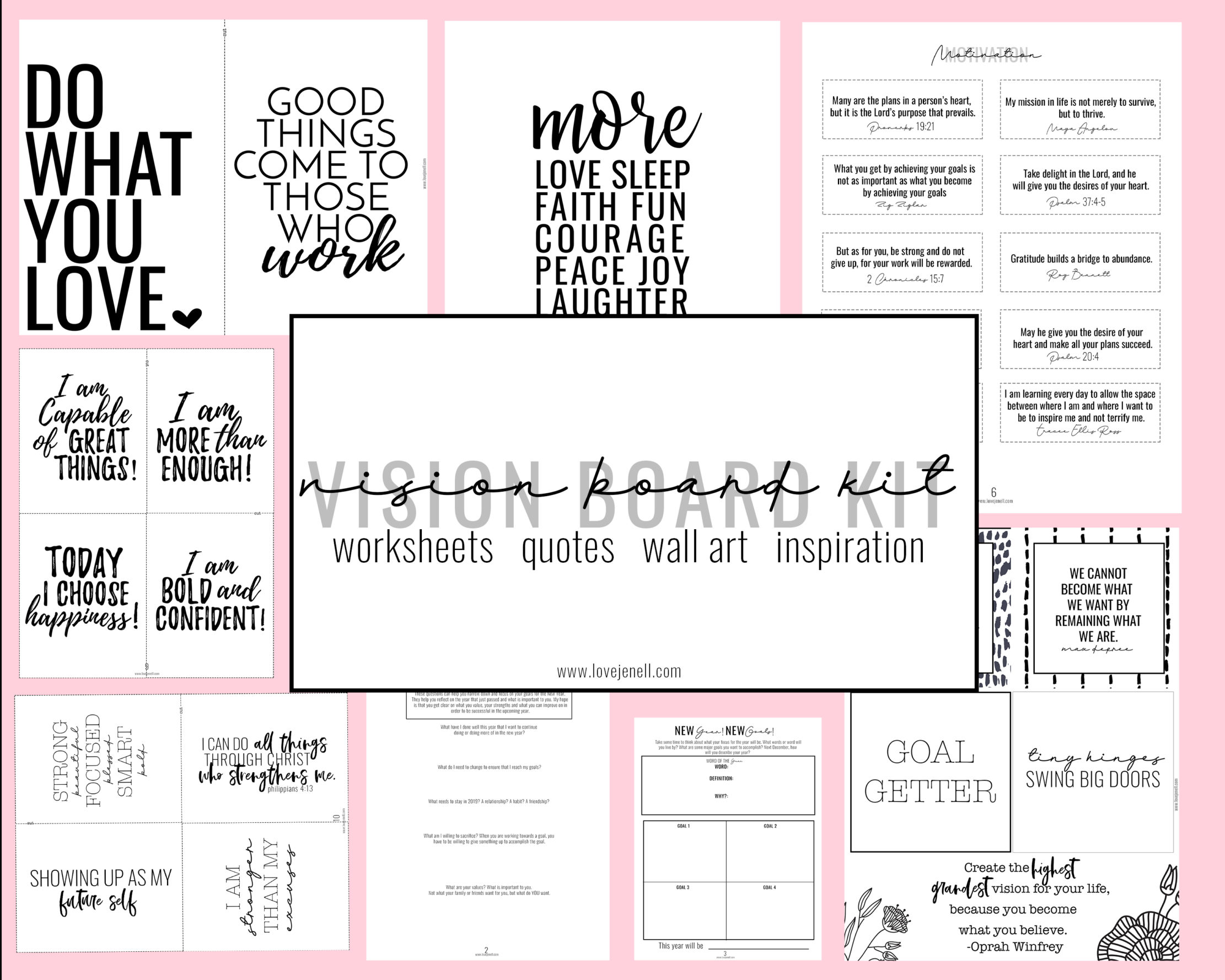 What To Do Before You Create Your Vision Board Design