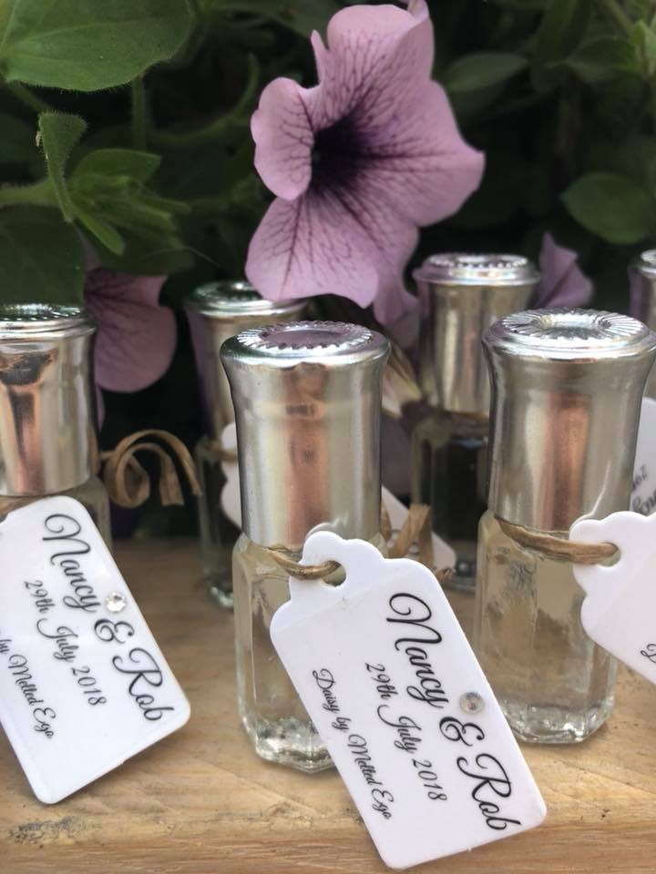 Melted Ego Wedding Favours