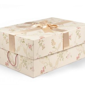 Floral Wedding Dress Box
