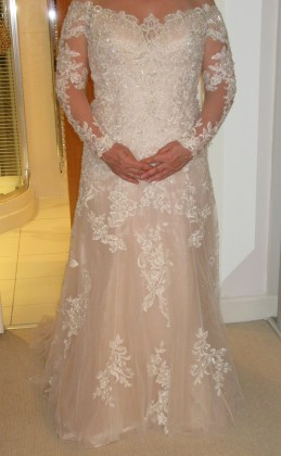 Mori Lee Leighton front
