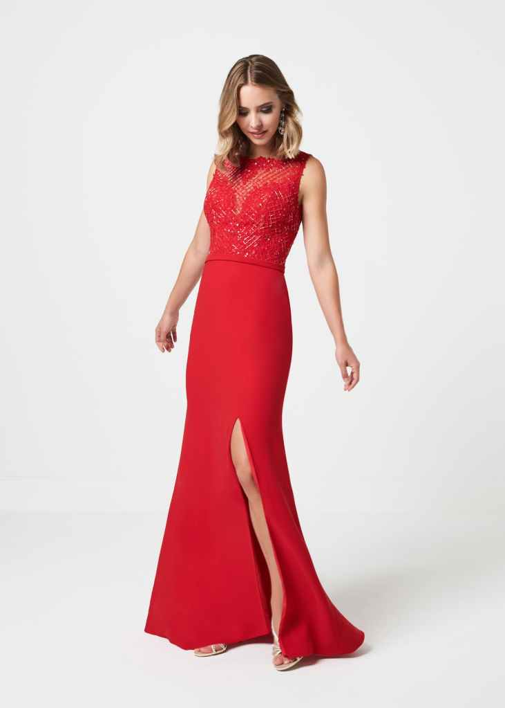 prom dress a123 front