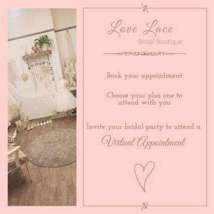 Book your bridal appointment