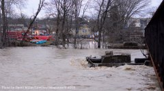 Taken from Riverside/Kemper looking at East Broadway Street and Loveland Canoe and Kayak.
