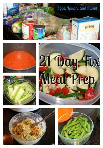 21 Day Fix Meal Prep