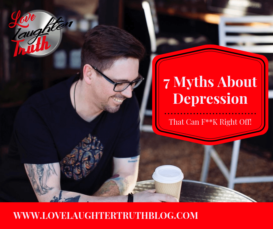 7 Myths About Depression That Can F**k Right Off