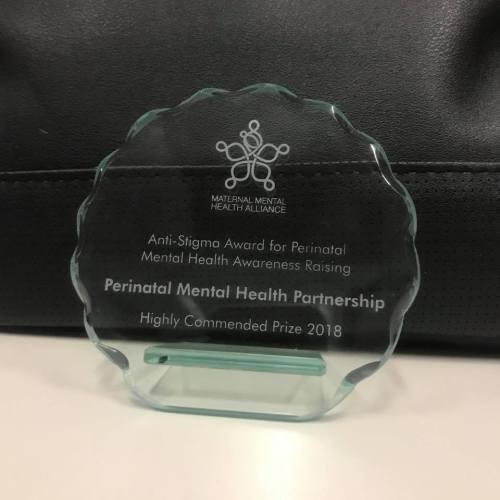 perinatal mental health partnership award